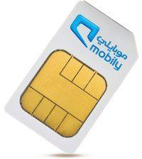 SIM card Saudi ( Mobily) RM10